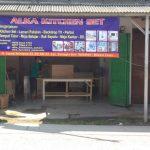 alka kitchen set bekasi