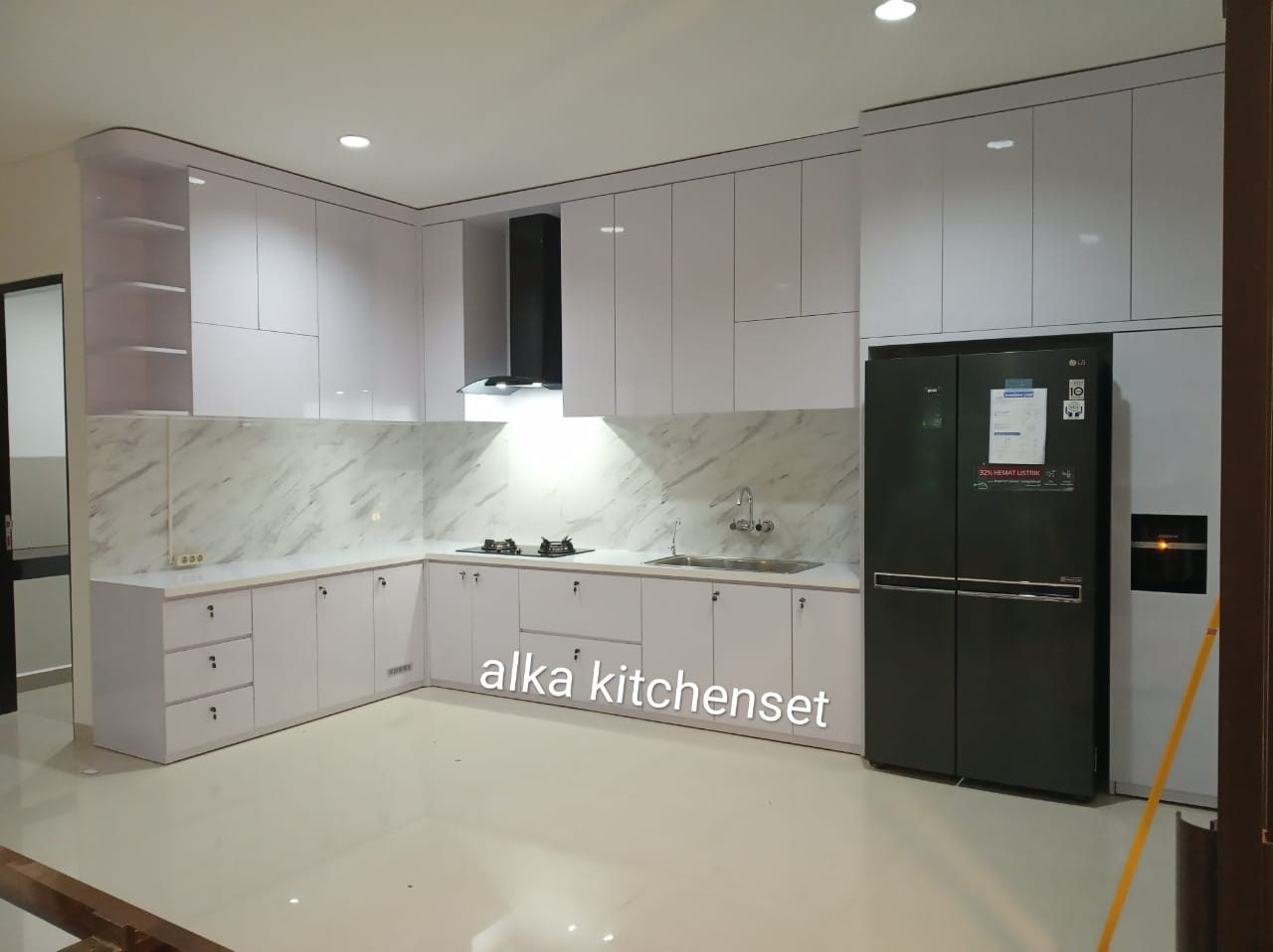 kitchen set minimalis mewah