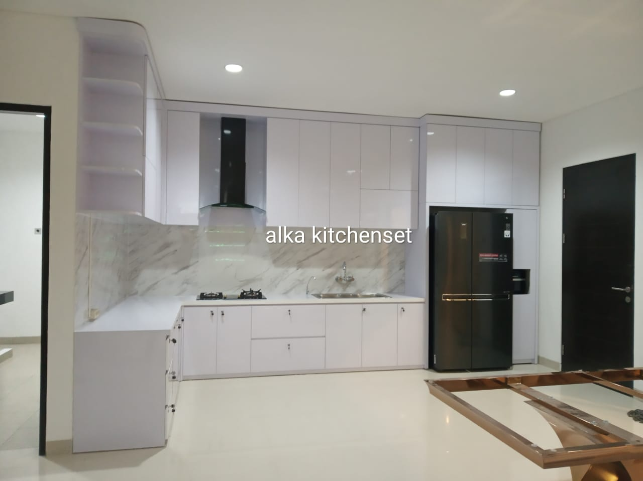kitchen set modern mewah