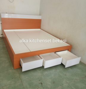 tempat tidur kamar set - Tempat Tidur HPL Rumah Minimalis