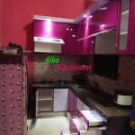 Kitchen Set Ungu Minimalis